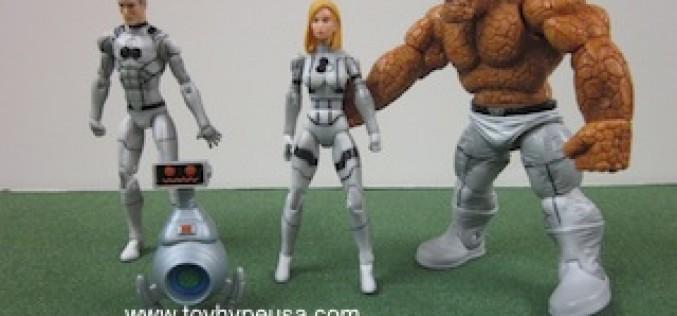 Marvel Universe 3.75 Inch – Fantastic Four Future Foundation Variant Box Set Review