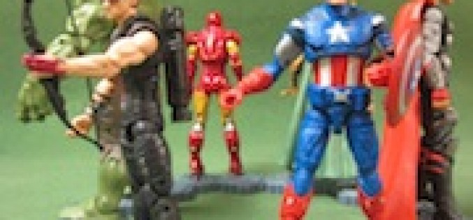 The Avengers Movie Wal-Mart Exclusive 6 Inch Figures Review