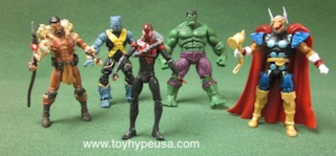 Marvel Universe 3.75 Inch Series 18 Review