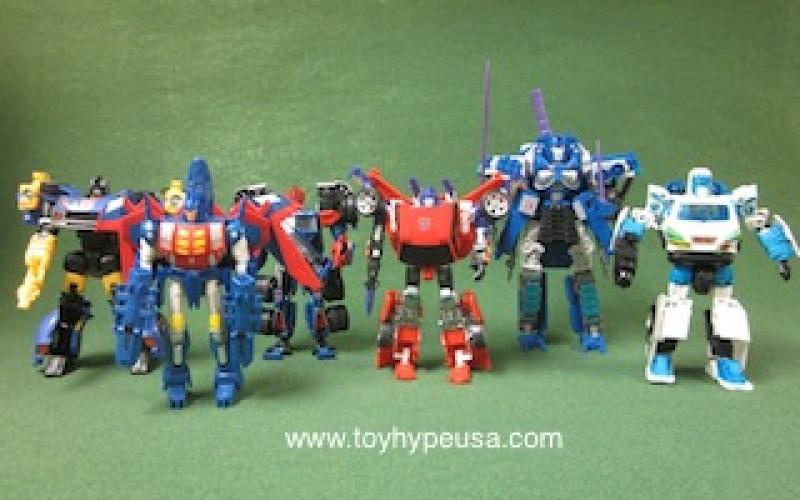BotCon 2012 Transformers Timelines Invasion Box Set Review