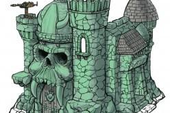 Mattel Posts Close-Up Of Castle Grayskull's Sculpt