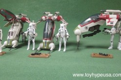 Star Wars The Clone Wars Republic Attack Dropship Review