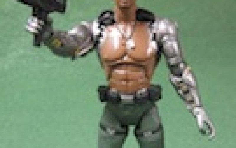 Jazwares Mortal Kombat 9 Jax 6 Inch Review