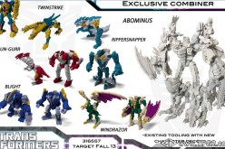 Transformers Beast Hunters Cyberverse Abominus Combiner Exclusive