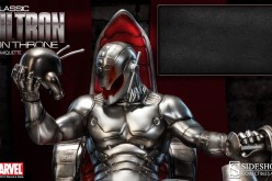 Sideshow Collectibles Classic Ultron On Throne Comiquette Preview