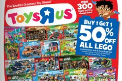 Toys R Us Lego Sale – Buy 1 Get 1 At 50% Off Until February 23rd