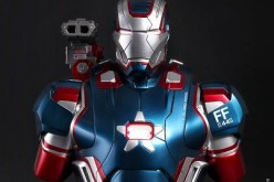 Pre-Order – Hot Toys Iron Patriot 1:4 Scale Collectible Bust