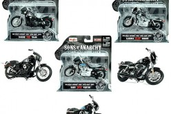 Sons of Anarchy 1:18 Scale Die-Cast Motorcycle Vehicle Set Pre-Orders