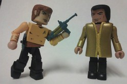 DST Toys R Us Exclusive Star Trek Legacy Minimates: TOS Kirk & Kahn Two-Pack