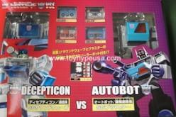 TFCC & E-hobby Transformers Shattered Glass Soundwave Vs. Blaster Box Set Review