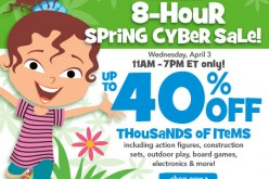 Toys R Us Offers Up To 40% Off Spring Clearance Sale Today Only