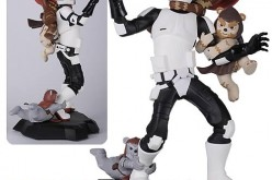 EE Exclusive Star Wars Scout Trooper Ewok Attack Maquette Now In-Stock
