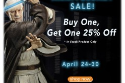 Entertainment Earth Anniversary Sale – Buy 1, Get 1 At 25% Off ALL In Stock Products