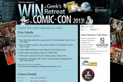 Enter To Win A Trip To San Diego Comic-Con 2013 For Two