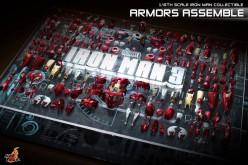Hot Toys 1/6 Scale Iron Man Armors Assemble