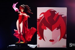 Scarlet Witch Premium Format Figure Now In Stock & Shipping