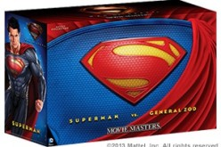 SDCC 2013 – DC Man of Steel Movie Masters Superman Vs. General Zod Movie Pack