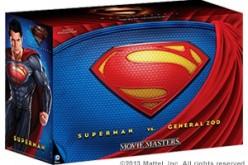 SDCC 2013 – DC Man of Steel Movie Masters Superman Vs. General Zod Movie Pack