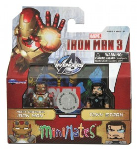 DST Iron Man 3 Minimates Released Today