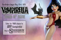 Sideshow's Vampirella 'Toned Up' Statue Preview