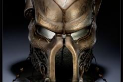 Sideshow's Aliens Vs. Predator Elder Predator Ceremonial Mask Prop Replica Now Shipping