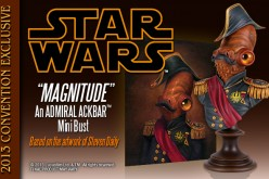 Gentle Giant Ltd. SDCC 2013 Exclusive – 'Magnitude' An Admiral Ackbar Mini Bust