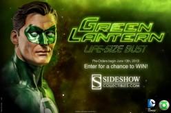Green Lantern Hal Jordan Life-Size Bust Preview
