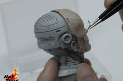 Hot Toys Unhelmeted Head RoboCop Sixth Scale Figure Preview