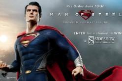 Superman Man Of Steel Premium Format Figure Preview