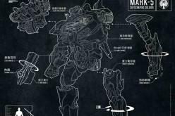 Pacific Rim Jaeger Strike Eureka Premium Format Figure Preview
