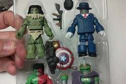 DST Hulk Through The Ages Marvel Minimates In Hand Image