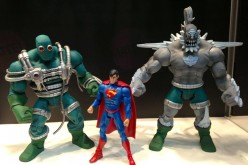 SDCC 2013 – DCU Club Infinite Earths Doomsday Tier 1 & 2 Comparison Image With Superman