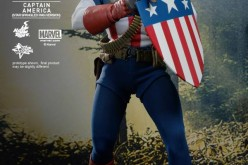 Hot Toys Captain America (Star Spangled Man Version) Sixth Scale Figure