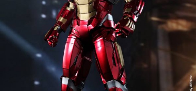Hot Toys Iron Man 3 Mark XVII Heartbreaker Armor Sixth Scale Figure Now Shipping