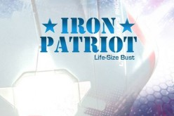 Sideshow's Iron Patriot Life-Size Bust Comic-Con Preview
