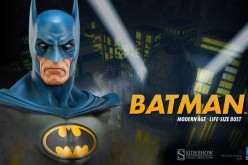 Sideshow Batman Modern Age Life Size Bust Preview