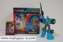 iGear Transformers Miniwarriors MW-06 Duneraker (G1 Beachcomber) Review