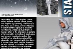 Gentle Giant Ltd. – Honey-Trap Statue, The Walking Dead The Governor Mini Bust, Bilbo Baggins Mini Bust, Thor Hammer Bookend, Padme Amidala Statue