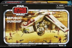 Star Wars The Vintage Collection Republic Gunship Toys R Us Exclusive In Package Image