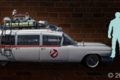 Mattel Visits Ecto-1 From The First Ghostbusters Movie
