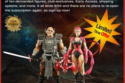 Masters Of The Universe Classics Club Eternia 2014 Subscription Re-Opened 9/20-9/24
