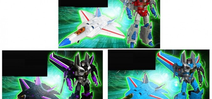 iGear Announces Transformers Generation 1 Seekers – Raptor Squadron Set Of 3