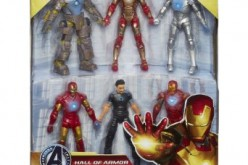 Iron Man 3 Marvel Hall Of Armor 4 Inch Box Set Listed On Amazon