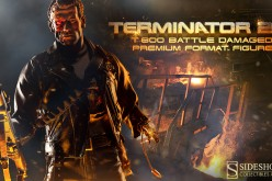 Sideshow Collectibles T-800 Terminator Battle Damaged Premium Format Figure Preview