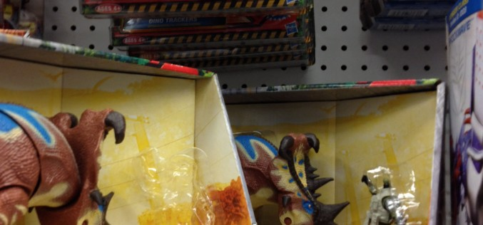 Jurassic Park Toys R Us Exclusive Pachyrhinosaurus Clash Figure Stolen From Shelf