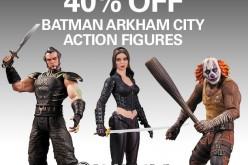Batman Arkham City Figures $12.99 Each Sale At Entertainment Earth Today Only