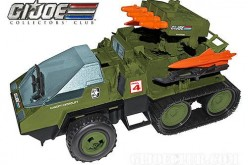 G.I. Joe Collectors' Club 2014 Member Add-On Vehicle Option With Club Exclusive Figure