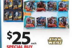 Wal-Mart Black Friday Star Wars & Marvel 8 Packs Return