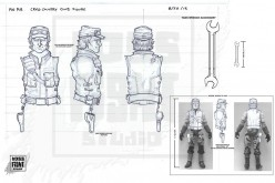 Boss Fight Studio Provides G.I. Joe Collectors' Club 2014 Exclusive Cross Country's Sculpt Input