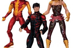 DC Collectibles New 52 Teen Titans Superboy, Kid Flash, & Wonder Girl Figures Revealed